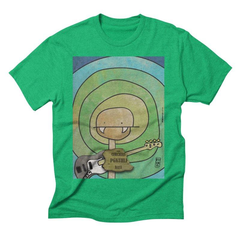 PGKUHLF_Bass Men's Triblend T-Shirt by ZEROSTILE'S ARTIST SHOP