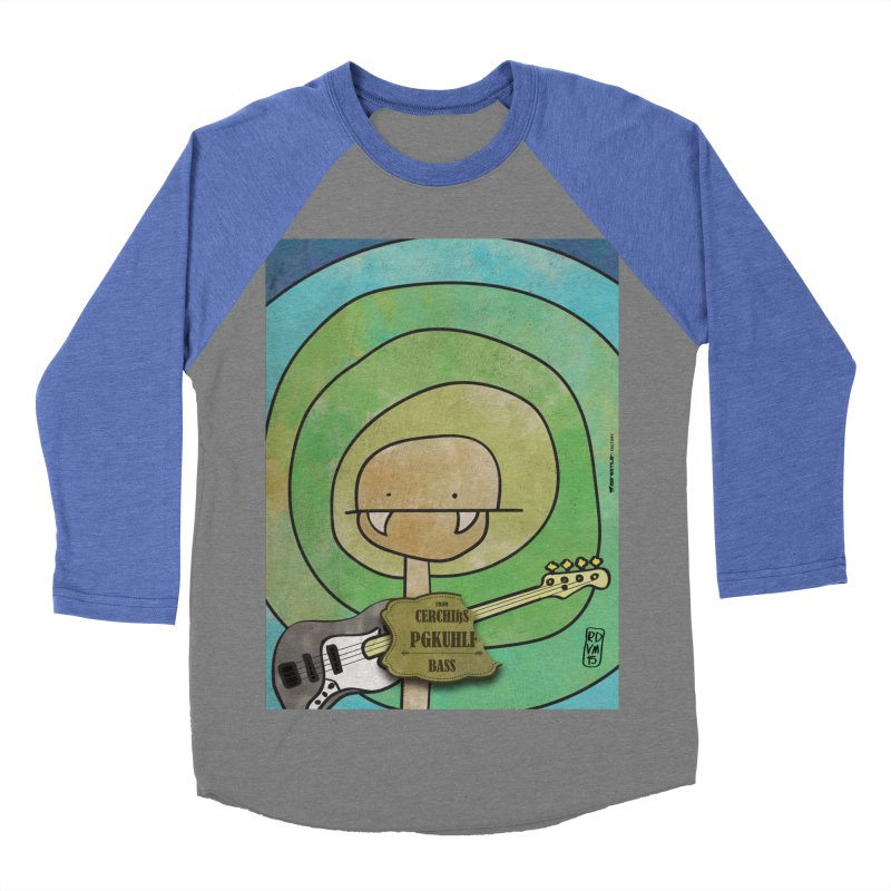 PGKUHLF_Bass Men's Baseball Triblend Longsleeve T-Shirt by ZEROSTILE'S ARTIST SHOP