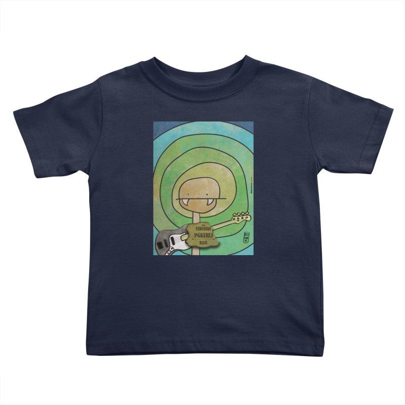 PGKUHLF_Bass Kids Toddler T-Shirt by ZEROSTILE'S ARTIST SHOP