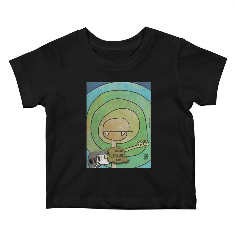 PGKUHLF_Bass Kids Baby T-Shirt by ZEROSTILE'S ARTIST SHOP