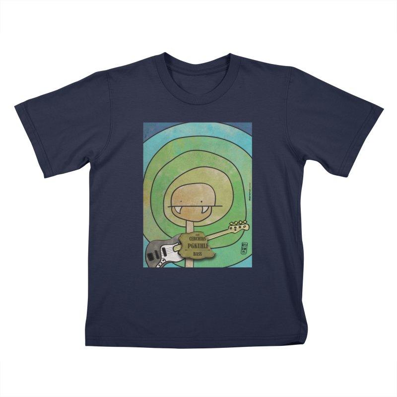 PGKUHLF_Bass Kids T-Shirt by ZEROSTILE'S ARTIST SHOP