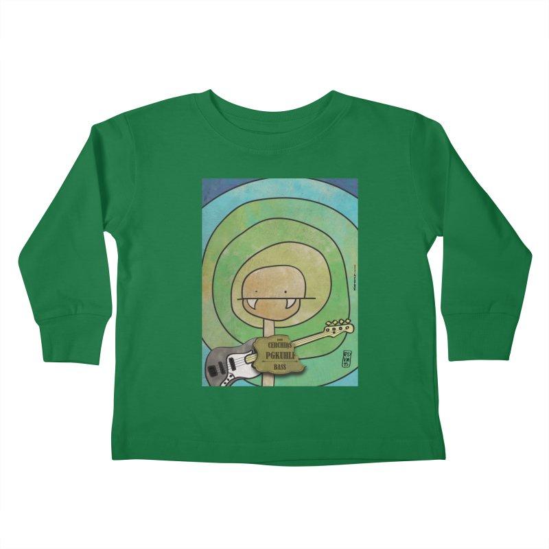 PGKUHLF_Bass Kids Toddler Longsleeve T-Shirt by ZEROSTILE'S ARTIST SHOP