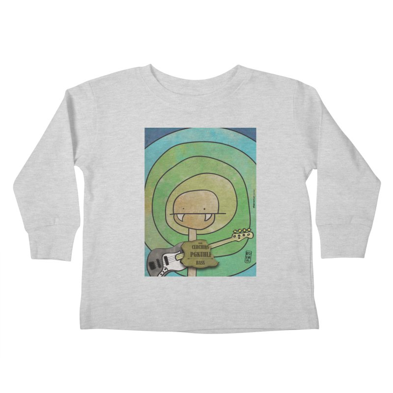 PGKUHLF_Bass Kids Toddler Longsleeve T-Shirt by ZEROSTILE'S ARTIST SHOP