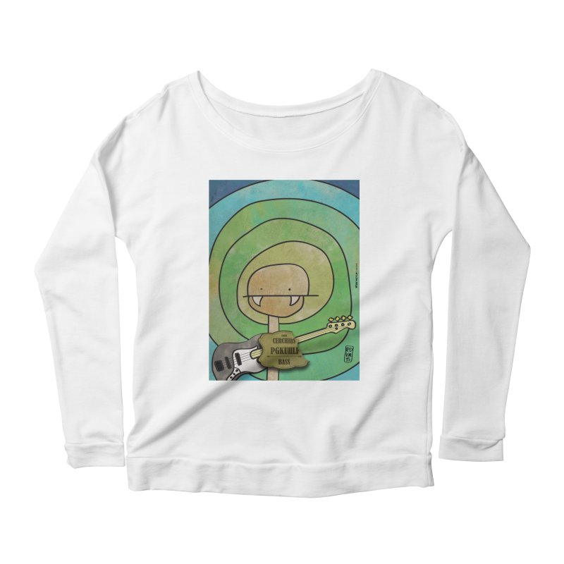 PGKUHLF_Bass Women's Scoop Neck Longsleeve T-Shirt by ZEROSTILE'S ARTIST SHOP
