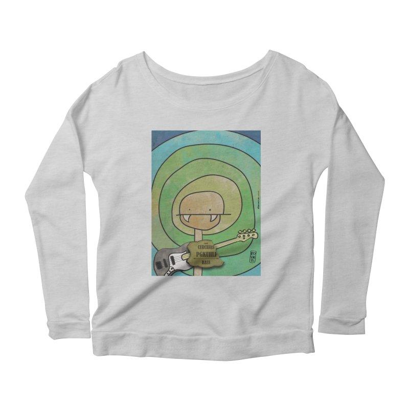 PGKUHLF_Bass Women's Scoop Neck Longsleeve T-Shirt by ZEROSTILE'S ARTIST SHOP