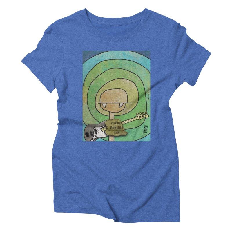 PGKUHLF_Bass Women's Triblend T-Shirt by ZEROSTILE'S ARTIST SHOP