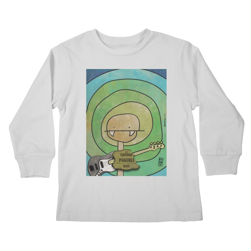 PGKUHLF_Bass Kids Longsleeve T-Shirt by ZEROSTILE'S ARTIST SHOP