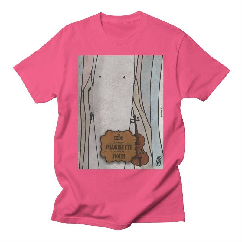 PIAGHETTI_Violin Men's T-Shirt by ZEROSTILE'S ARTIST SHOP