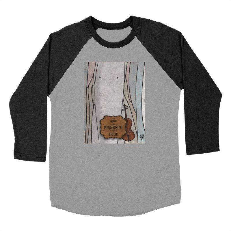 PIAGHETTI_Violin Women's Longsleeve T-Shirt by ZEROSTILE'S ARTIST SHOP
