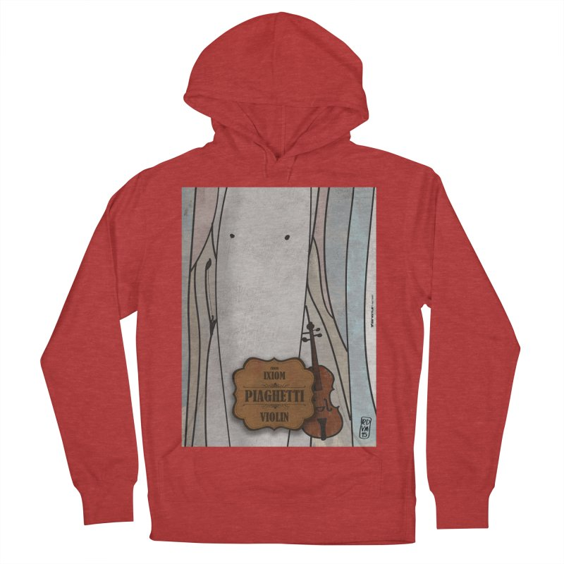 PIAGHETTI_Violin Women's French Terry Pullover Hoody by ZEROSTILE'S ARTIST SHOP