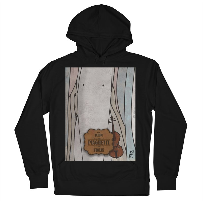 PIAGHETTI_Violin Men's French Terry Pullover Hoody by ZEROSTILE'S ARTIST SHOP