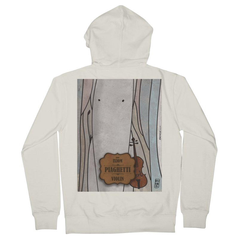 PIAGHETTI_Violin Women's Zip-Up Hoody by ZEROSTILE'S ARTIST SHOP