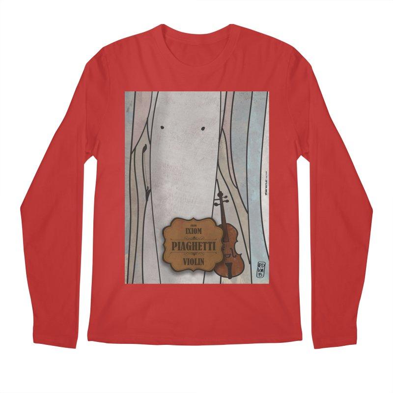 PIAGHETTI_Violin Men's Longsleeve T-Shirt by ZEROSTILE'S ARTIST SHOP