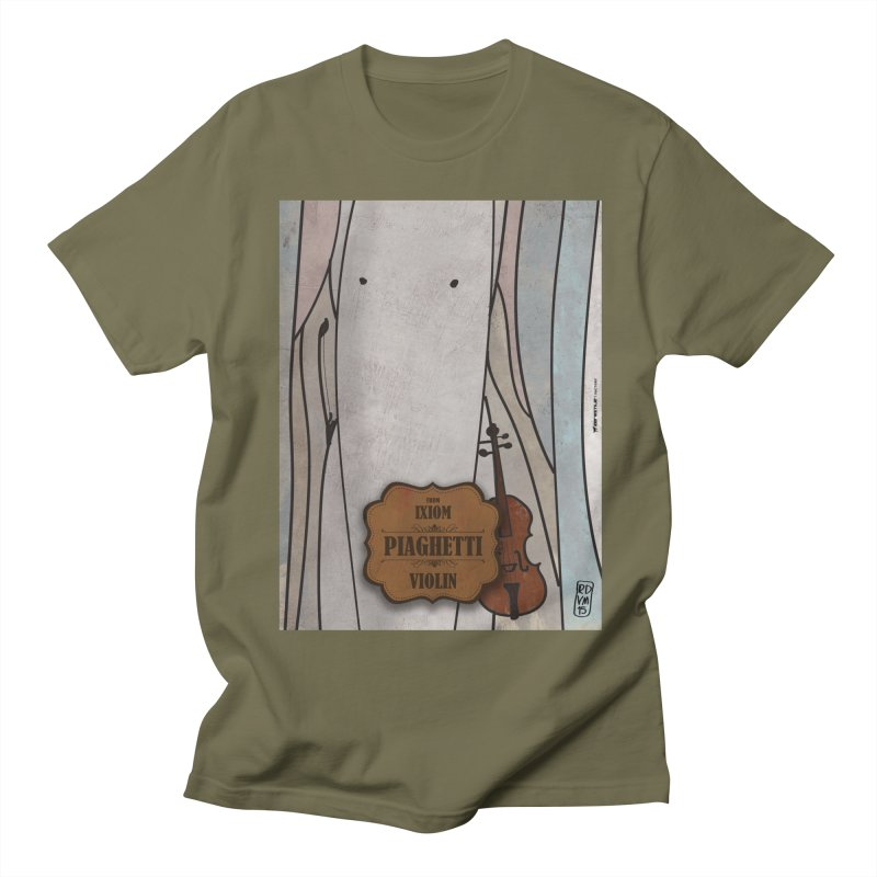 PIAGHETTI_Violin Women's Regular Unisex T-Shirt by ZEROSTILE'S ARTIST SHOP