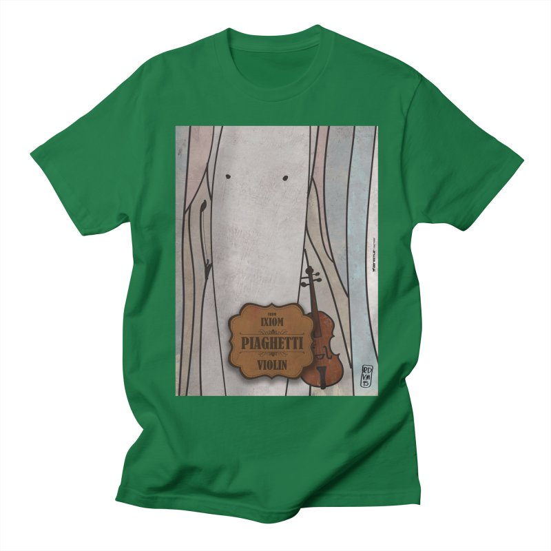 PIAGHETTI_Violin Men's T-Shirt by ZEROSTILE'S ARTIST SHOP
