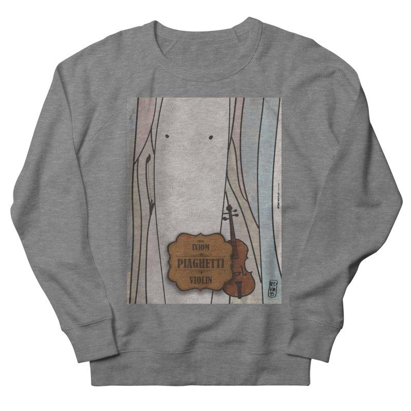 PIAGHETTI_Violin Men's Sweatshirt by ZEROSTILE'S ARTIST SHOP
