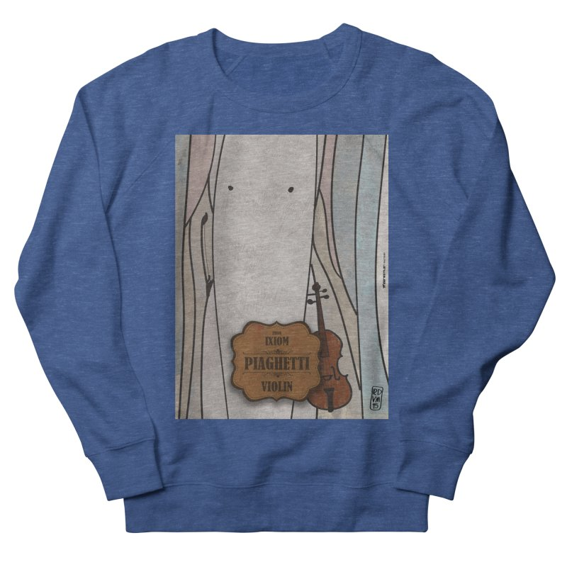 PIAGHETTI_Violin Men's Sweatshirt by ZEROSTILE'S ARTIST SHOP