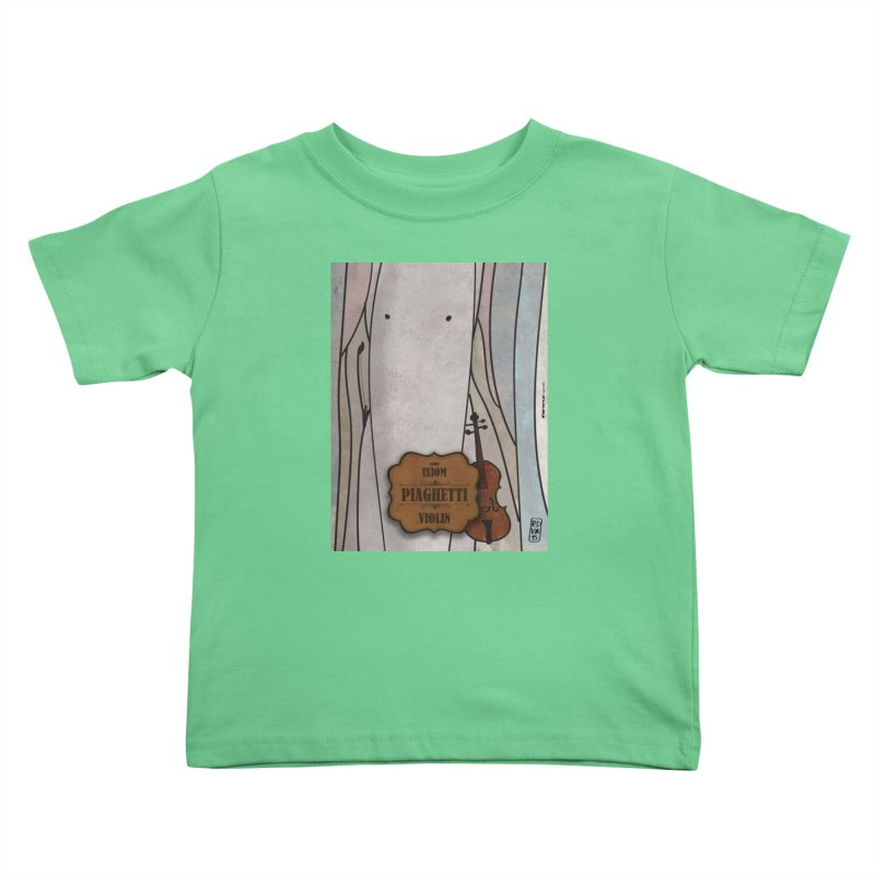 PIAGHETTI_Violin Kids Toddler T-Shirt by ZEROSTILE'S ARTIST SHOP