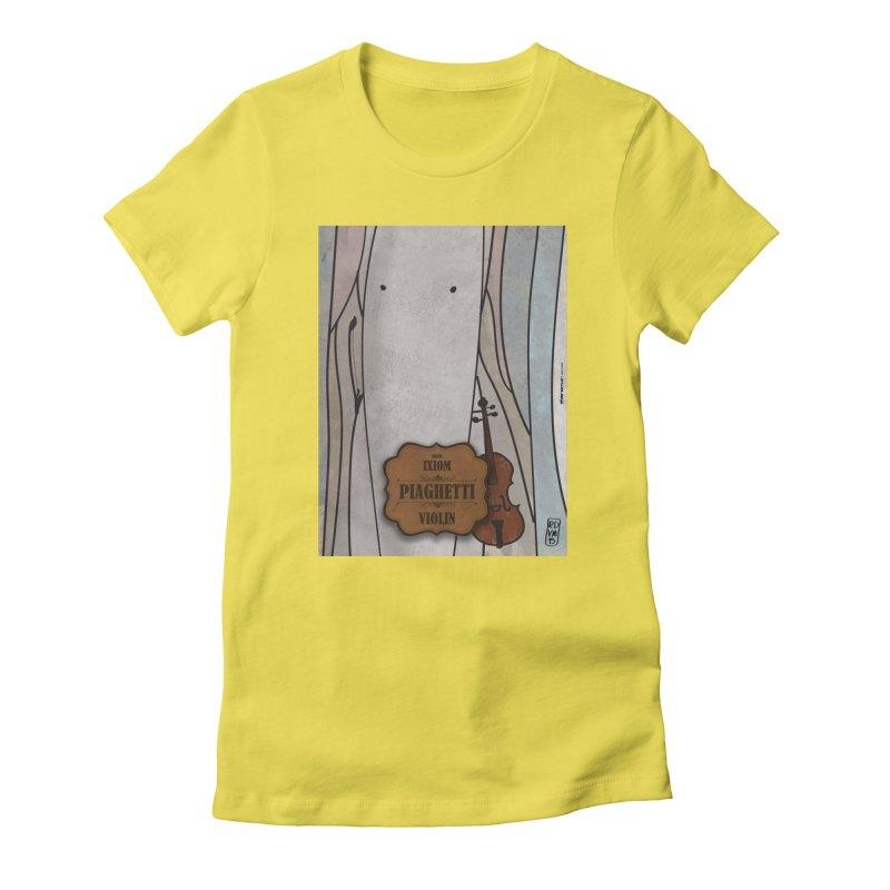 PIAGHETTI_Violin Women's T-Shirt by ZEROSTILE'S ARTIST SHOP