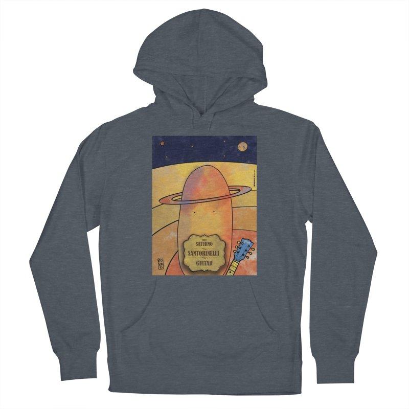 SANTORINELLI_Guitar Men's Pullover Hoody by ZEROSTILE'S ARTIST SHOP