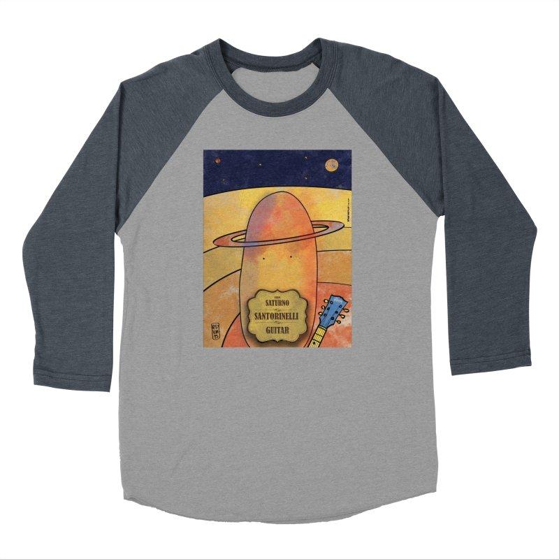 SANTORINELLI_Guitar Men's Longsleeve T-Shirt by ZEROSTILE'S ARTIST SHOP