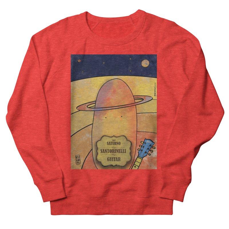 SANTORINELLI_Guitar Men's Sweatshirt by ZEROSTILE'S ARTIST SHOP