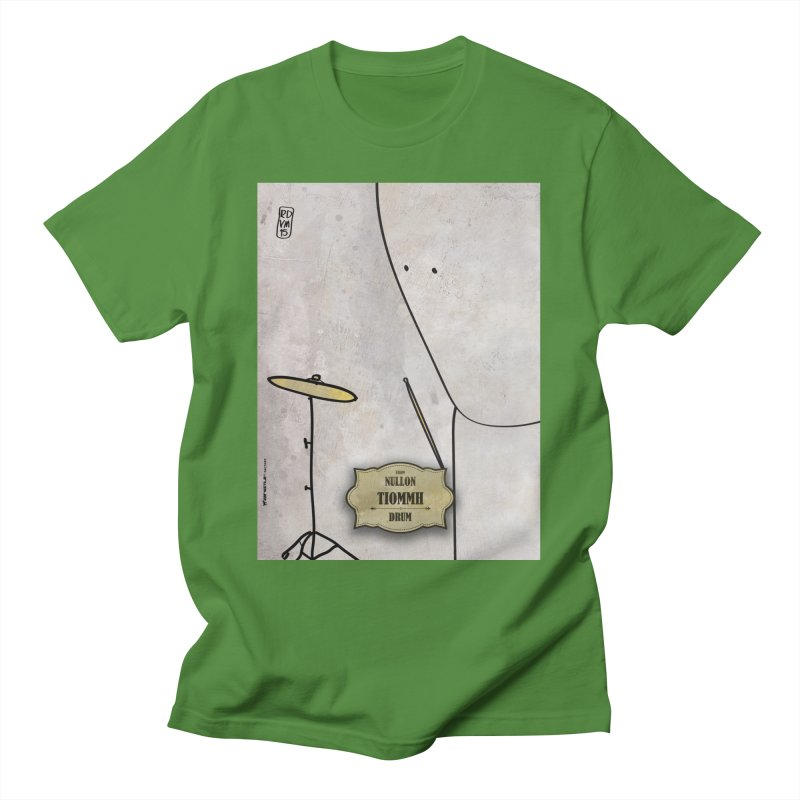 TIOMMH_Drum Men's T-Shirt by ZEROSTILE'S ARTIST SHOP