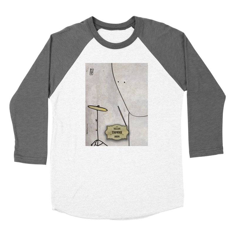 TIOMMH_Drum Women's Longsleeve T-Shirt by ZEROSTILE'S ARTIST SHOP