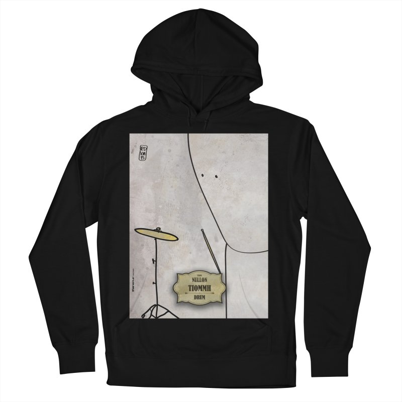 TIOMMH_Drum Women's French Terry Pullover Hoody by ZEROSTILE'S ARTIST SHOP