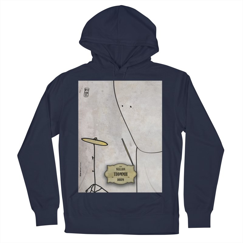 TIOMMH_Drum Men's French Terry Pullover Hoody by ZEROSTILE'S ARTIST SHOP
