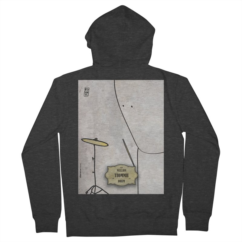 TIOMMH_Drum Women's Zip-Up Hoody by ZEROSTILE'S ARTIST SHOP