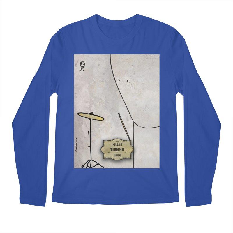 TIOMMH_Drum Men's Regular Longsleeve T-Shirt by ZEROSTILE'S ARTIST SHOP