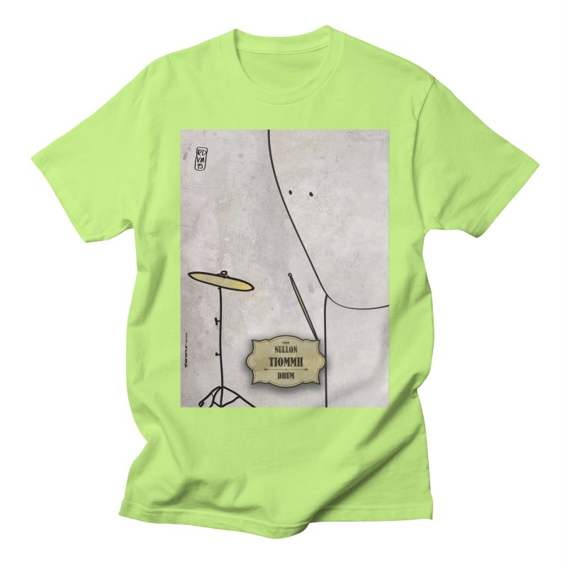 TIOMMH_Drum Men's Regular T-Shirt by ZEROSTILE'S ARTIST SHOP