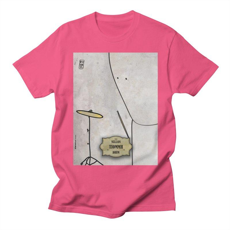 TIOMMH_Drum Men's Regular T-Shirt by ZEROSTILE'S ARTIST SHOP
