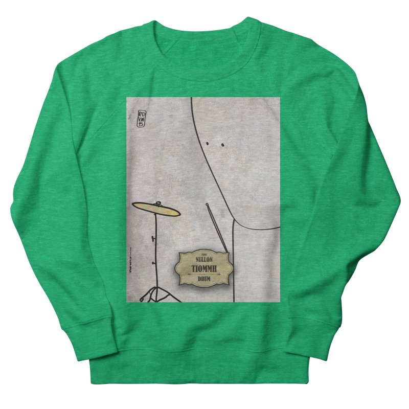 TIOMMH_Drum Women's Sweatshirt by ZEROSTILE'S ARTIST SHOP