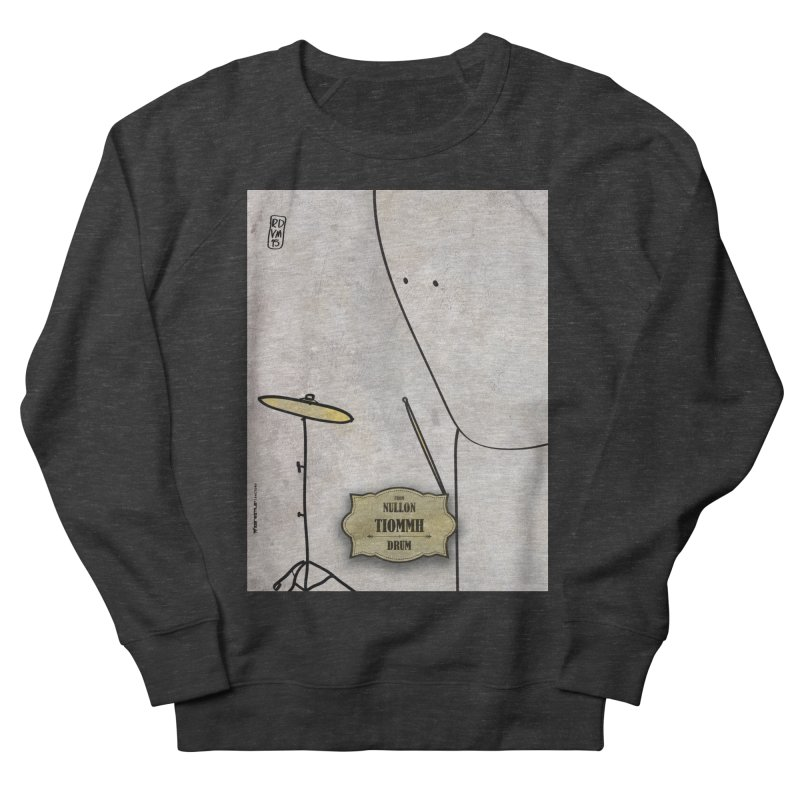TIOMMH_Drum Women's French Terry Sweatshirt by ZEROSTILE'S ARTIST SHOP