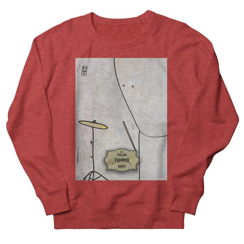 TIOMMH_Drum Women's French Terry Sweatshirt by ZEROSTILE'S ARTIST SHOP