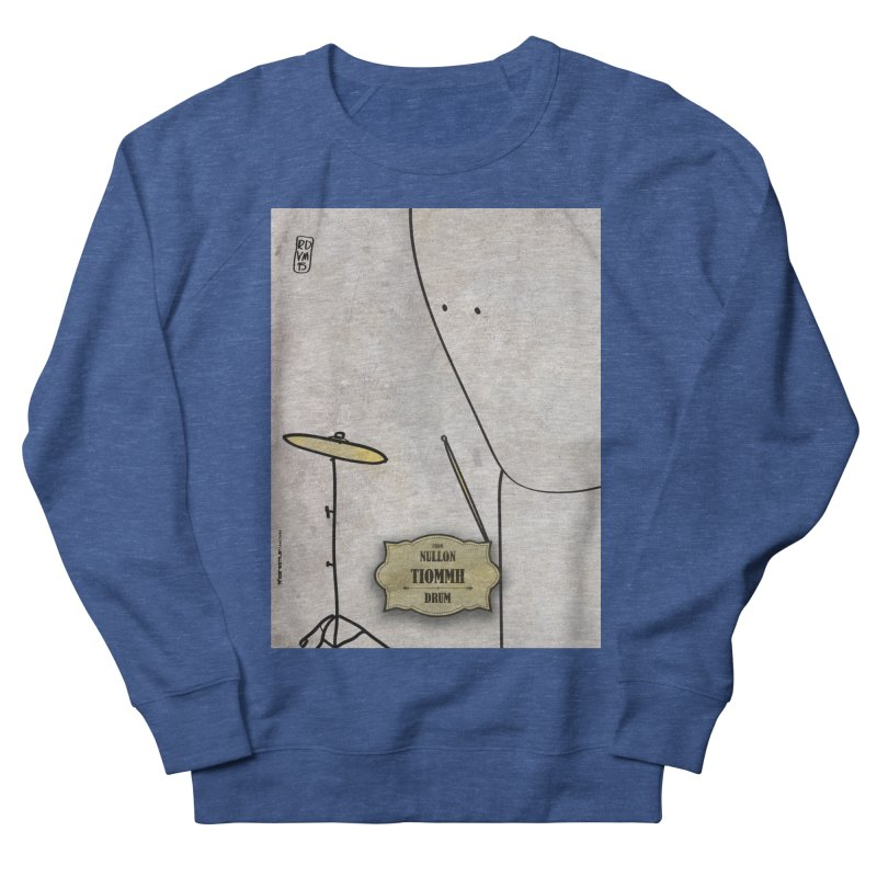 TIOMMH_Drum Men's French Terry Sweatshirt by ZEROSTILE'S ARTIST SHOP