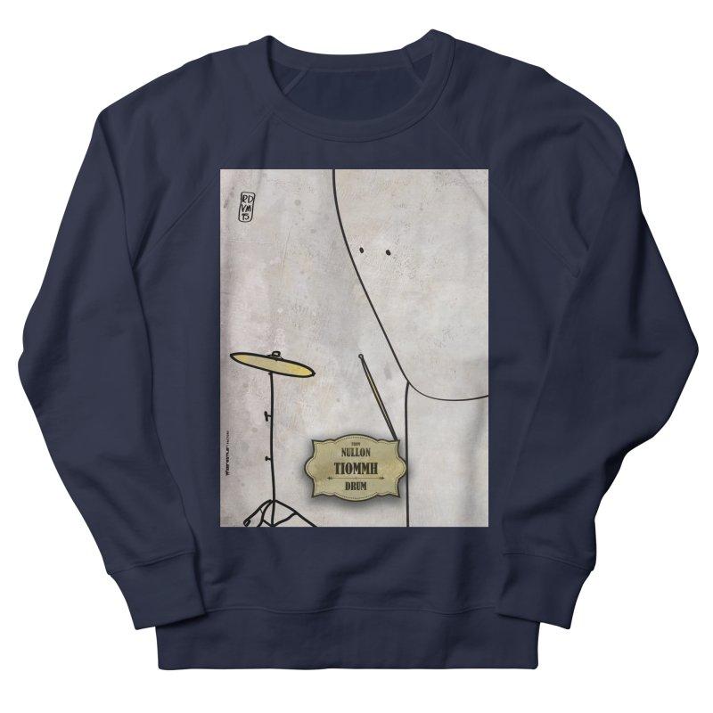 TIOMMH_Drum Men's French Terry Sweatshirt by ZEROSTILE'S ARTIST SHOP