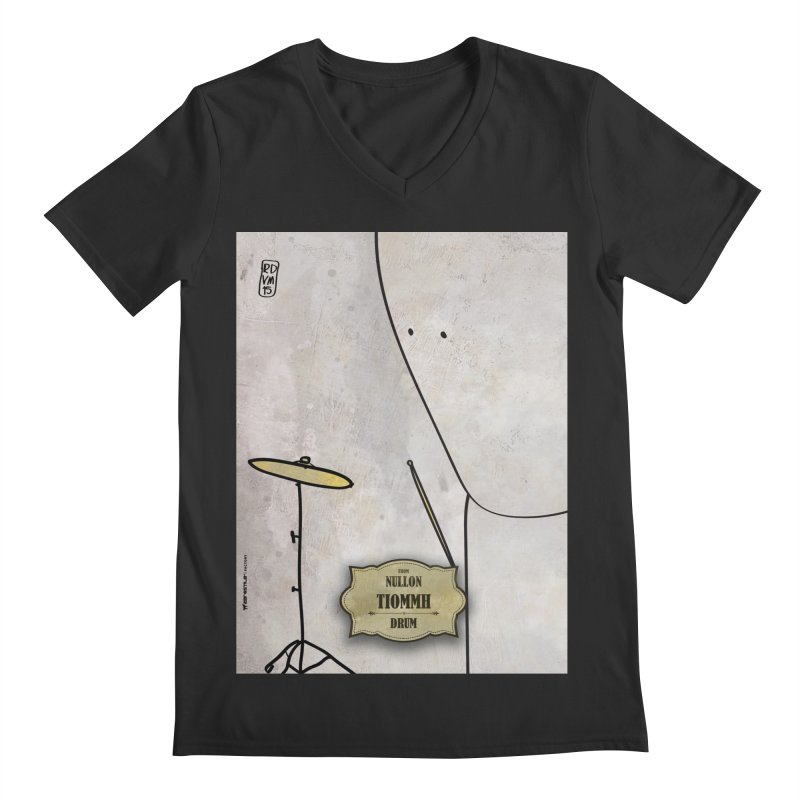 TIOMMH_Drum Men's V-Neck by ZEROSTILE'S ARTIST SHOP