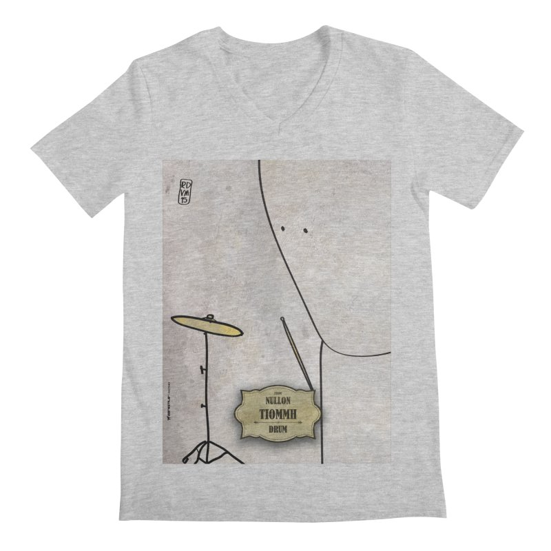 TIOMMH_Drum Men's V-Neck by ZEROSTILE'S ARTIST SHOP