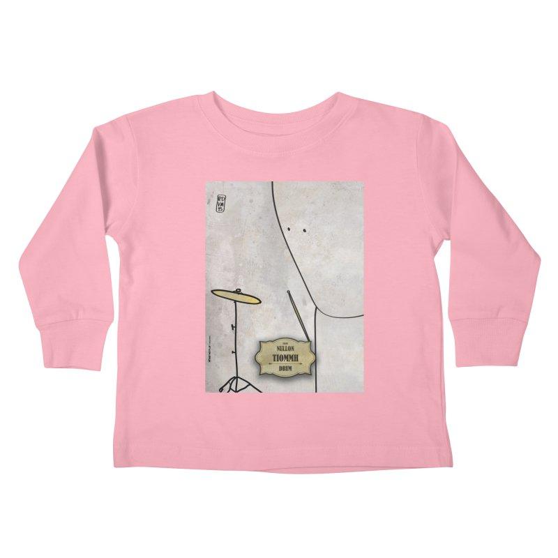 TIOMMH_Drum Kids Toddler Longsleeve T-Shirt by ZEROSTILE'S ARTIST SHOP