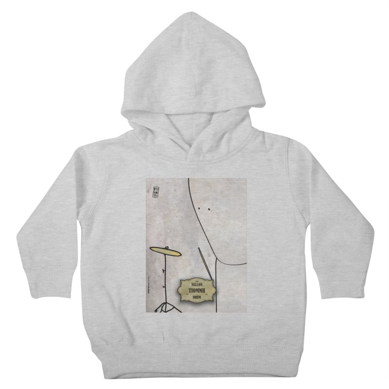 TIOMMH_Drum Kids Toddler Pullover Hoody by ZEROSTILE'S ARTIST SHOP