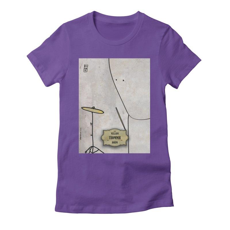 TIOMMH_Drum Women's T-Shirt by ZEROSTILE'S ARTIST SHOP