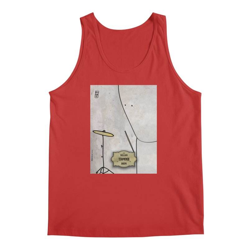 TIOMMH_Drum Men's Regular Tank by ZEROSTILE'S ARTIST SHOP