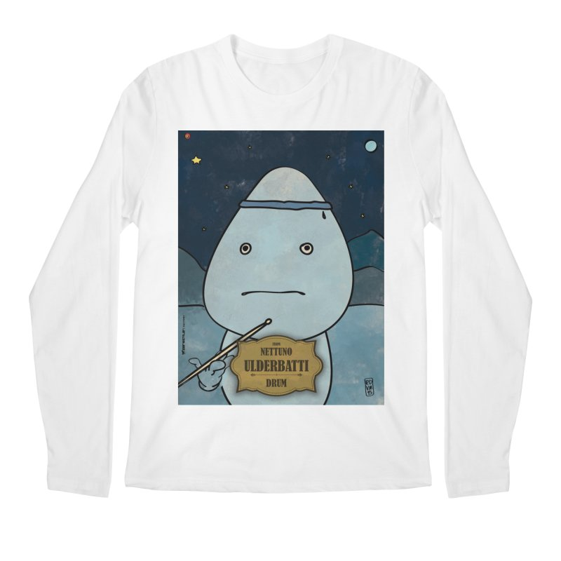 ULDERBATTI_Drum Men's Regular Longsleeve T-Shirt by ZEROSTILE'S ARTIST SHOP