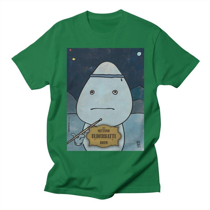 ULDERBATTI_Drum Men's Regular T-Shirt by ZEROSTILE'S ARTIST SHOP