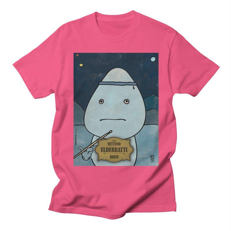 ULDERBATTI_Drum Women's Regular Unisex T-Shirt by ZEROSTILE'S ARTIST SHOP
