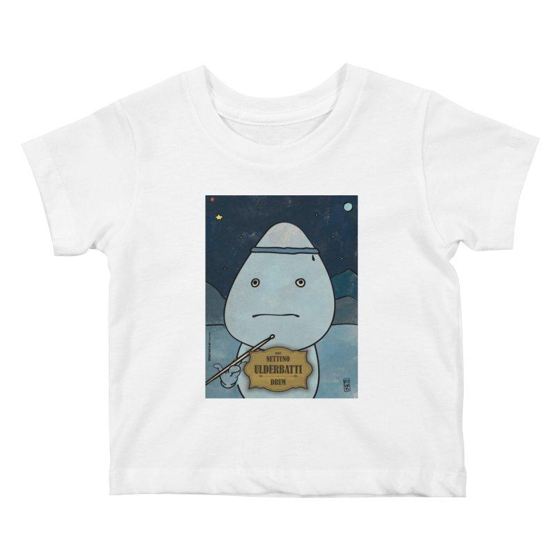 ULDERBATTI_Drum Kids Baby T-Shirt by ZEROSTILE'S ARTIST SHOP