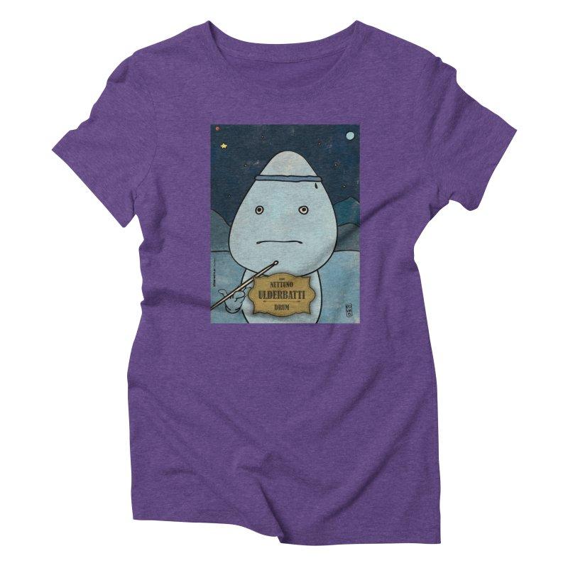 ULDERBATTI_Drum Women's T-Shirt by ZEROSTILE'S ARTIST SHOP